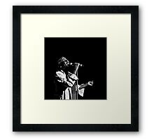 Jimmy Cliff (B&W) Framed Print