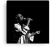 Jimmy Cliff (B&W) Canvas Print