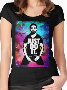 JUST DO IT!!! NEBULA GALAXY II Women's Fitted Scoop T-Shirt