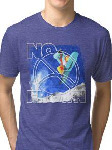 No Frown - Snowboard Tri-blend T-Shirt