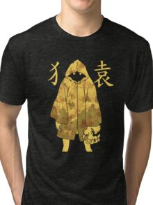 Monogatari - Suruga Monkey (stained) Tri-blend T-Shirt