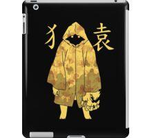 Monogatari - Suruga Monkey (stained) iPad Case/Skin