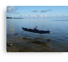 Boat on Stilts Canvas Print