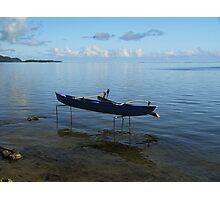 Boat on Stilts Photographic Print