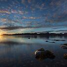 Arctic sunset by Frank Olsen