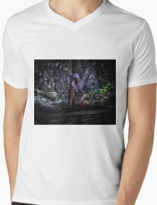 Forest Fairy Mens V-Neck T-Shirt