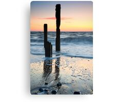 Two Old Men - Happisburgh, Norfolk Canvas Print