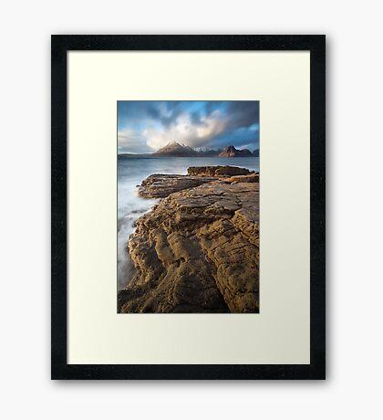 Elgol Light Framed Print