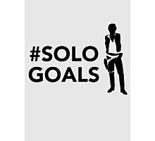 Solo Goals Photographic Print