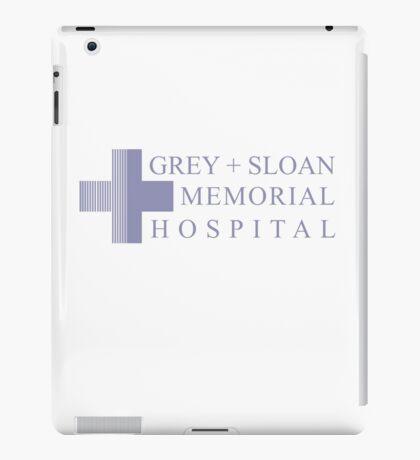GREY + SLOAN MEMORIAL HOSPITAL - GREY'S ANATOMY iPad Case/Skin