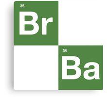 Breaking Bad - BrBa Logo Canvas Print