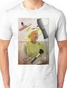Portrait of Queen Elizabeth II Unisex T-Shirt