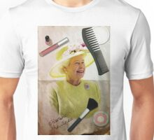 Portrait of Queen Elizabeth II Unisex T-Shirt