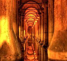 Basilica Cistern - Istanbul, Turkey by Ben Prewett