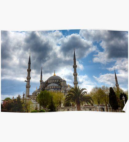 Sultanahmet Cascades - Istanbul, Turkey Poster