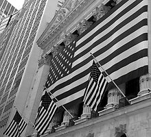 Patriotic - Stock Exchange, New York by Ben Prewett