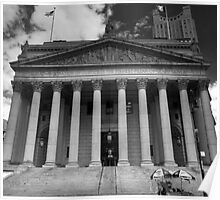 Black and White Justice - New York Supreme Court of Justice, New York Poster
