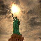 Torch Of Liberty - Staue of Liberty, New York by Ben Prewett