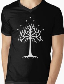 Lord of the Rings - White Tree of Gondor Mens V-Neck T-Shirt