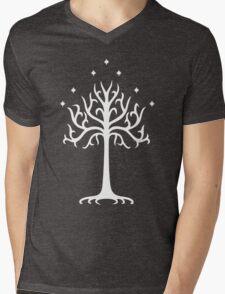 Lord of the Rings - White Tree of Gondor Mens V-Neck T-Shirt