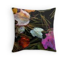 Water Tapestry Throw Pillow