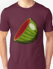 Cartoon Watermelon half T-Shirt