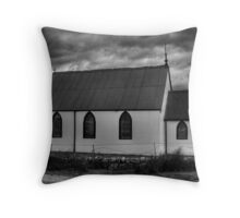 ..And The Sky Is Grey... Throw Pillow
