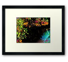 Three Layer Blender #8:  Checkmate abstract(UF0388) Framed Print