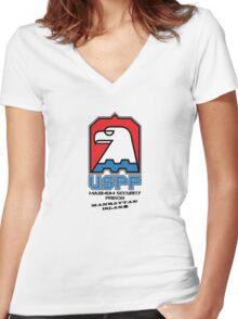 USPF Women's Fitted V-Neck T-Shirt