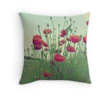 Ahhhh....Poppies!!! Throw Pillow