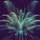 Blue Pampas by viennablue