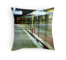 Ghostrider Train  Throw Pillow