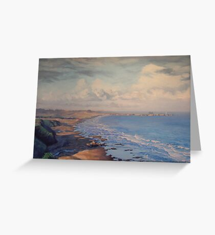 Irish Beach Greeting Card