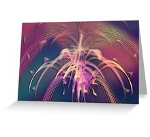 Shaking them Tail Feathers Greeting Card