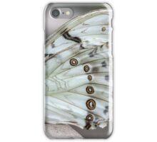 White Morpho iPhone Case/Skin