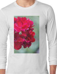 geranium in the garden Long Sleeve T-Shirt