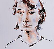 Portrait  17. 02.  2011 by Peter Shearer
