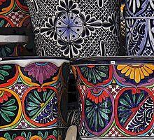 'Talavera' ceramics by Shirley  Poll