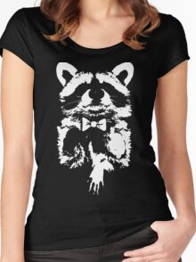 Classy Raccoon Women's Fitted Scoop T-Shirt