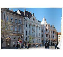 Novi Sad Town Square Poster
