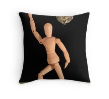 Croquis Gets Night Fever Throw Pillow