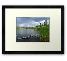 Lynx Lake in Prescott, AZ Framed Print