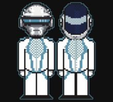Daft Punk Derezzed by VicariousVandal