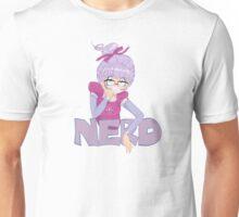 Shy Violet is a nerd Unisex T-Shirt