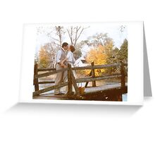 Anne and Gilbert Kiss Greeting Card