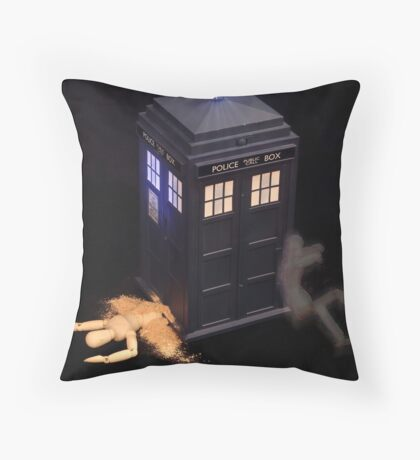 The Accidental Death of a Grandfather Throw Pillow