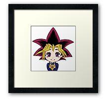 Yu-Gi-Oh! Yugi Framed Print