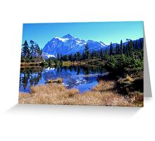 """Reflective Beauty"" Greeting Card"