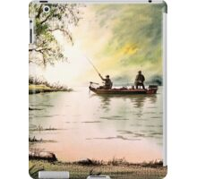 Greenbrier River WV - Fishing For Bass iPad Case/Skin
