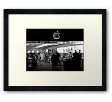 Apple Store Framed Print